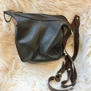 Valentina Italian Sling/Backpack/Bucket Bag
